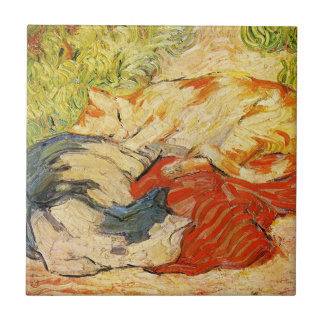 Franz Marc Cats Tile