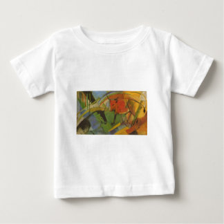 Franz Marc - Cattle 1913 Cardboard cow Cows animal Baby T-Shirt