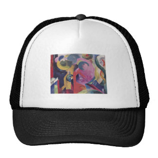 Franz Marc - Composition III 1914 Canvas Abstract Trucker Hat