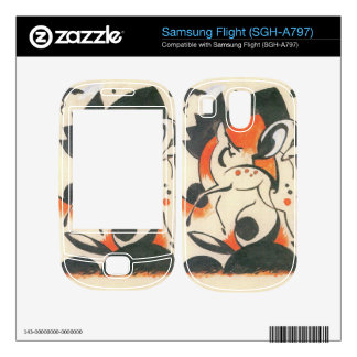Franz Marc - Composition with two deer Decals For Samsung Flight