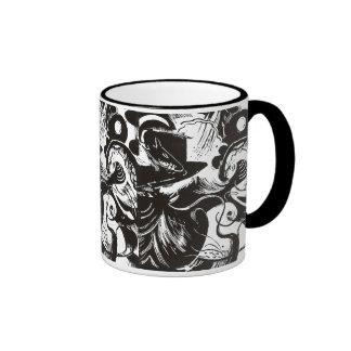 Franz Marc - Creation myth Ringer Mug