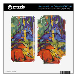 Franz Marc - Deer in Forest Samsung Vibrant Decal