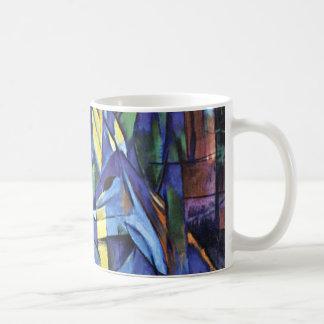 Franz Marc - Deer in the forest (II) Coffee Mugs