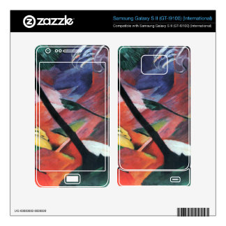 Franz Marc - Deer in the forest II Samsung Galaxy S II Skins