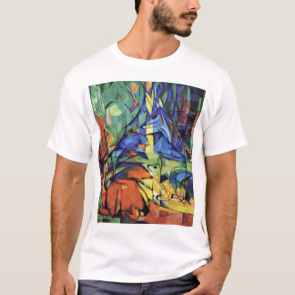 Franz Marc - Deer in the forest (II) T-Shirt