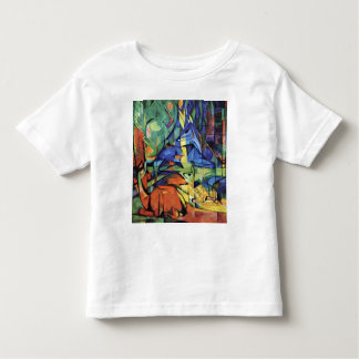 Franz Marc - Deer in the forest (II) Toddler T-shirt