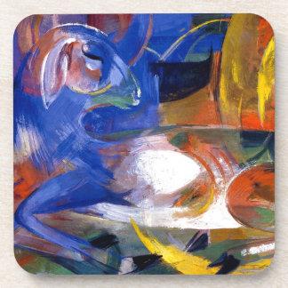Franz Marc el arte del expresionista del cordero Posavaso