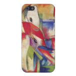 Franz Marc - Elephant, Horse, Cattle, Winter iPhone 5 Covers