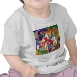 Franz Marc - Elephant, Horse, Cattle, Winter T-shirts