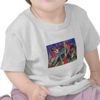 Franz Marc - Fabeltiere I 1913 Horse Abstract T-shirt