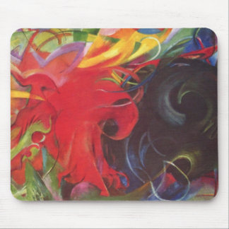 Franz Marc - Fighting forms Mouse Pad
