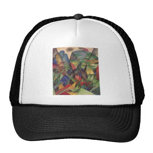 Franz Marc - Foxes 1913 Oil Canvas Red Fox Sly Trucker Hat