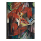 Franz Marc - Foxes, 1913 Poster