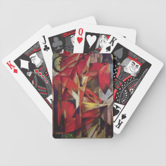 Franz Marc - Foxes Bicycle Playing Cards