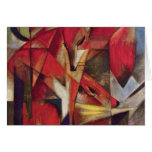 Franz Marc - Foxes Greeting Card