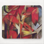 Franz Marc - Foxes Mouse Pad