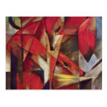 Franz Marc - Foxes Post Card