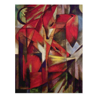 Franz Marc - Foxes Postcard