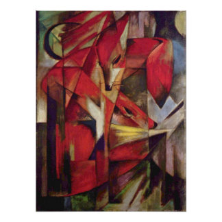 Franz Marc - Foxes Posters