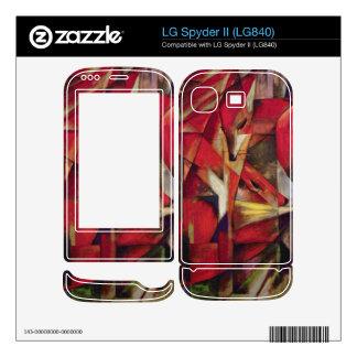 Franz Marc - Foxes LG Spyder II Skins