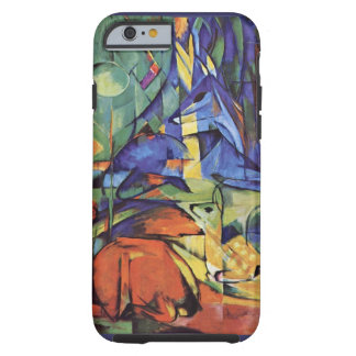 Franz Marc - German Expressionist Art - Roe Deer Tough iPhone 6 Case