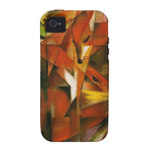 Franz Marc - German Expressionist Art - The Foxes Case-Mate iPhone 4 Case