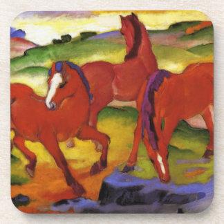Franz Marc Grazing Horses Coaster
