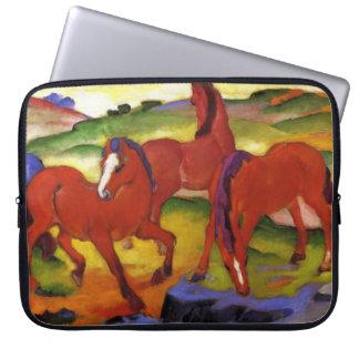 Franz Marc Grazing Horses Laptop Sleeve