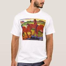 Franz Marc Grazing Horses T-shirt