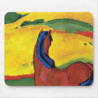 Franz Marc - Horse In A Landscape Mouse Pad