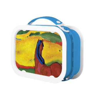 Franz Marc - Horse In A Landscape Painting Lunch Box