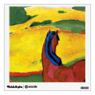 Franz Marc - Horse In A Landscape Painting Wall Decal