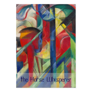 Franz Marc-Horse Whisperer Business Card
