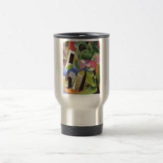 Franz Marc - House w/ Trees Small Composition 1914 Travel Mug