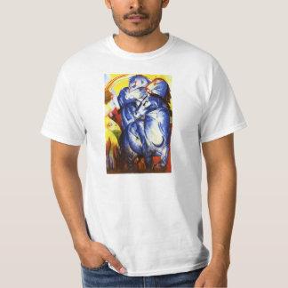 Franz Marc la torre de la camiseta azul de los Playera