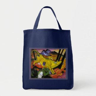 Franz Marc - la vaca amarilla - arte del expresion