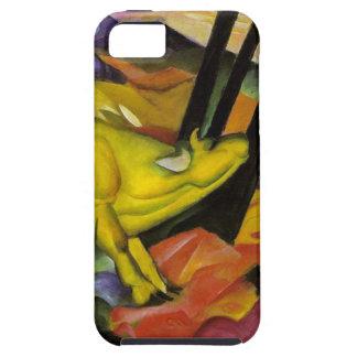 Franz Marc - la vaca amarilla - arte del expresion iPhone 5 Carcasa