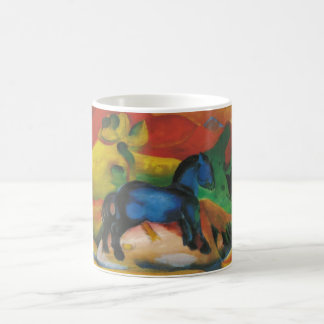 Franz Marc - Little Blue Horse 1912 Oil Canvas Classic White Coffee Mug