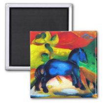 Franz Marc Little Blue Pony Magnet