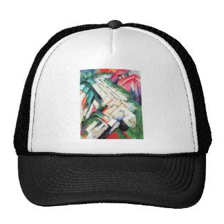 Franz Marc - Mountains - landscape Hats