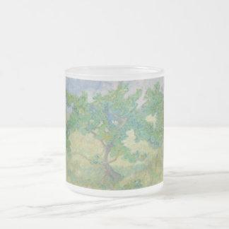 Franz Marc Oak tree 10 Oz Frosted Glass Coffee Mug