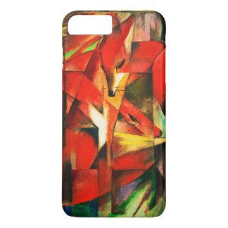 Franz Marc Red Foxes Vintage Fine Art iPhone 8 Plus/7 Plus Case