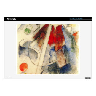 """Franz Marc - Sketch of the Brenner road Decal For 14"""" Laptop"""