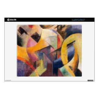 Franz Marc - Small composition I Laptop Skins