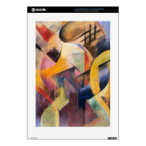 Franz Marc - Small composition I PS3 Console Skins