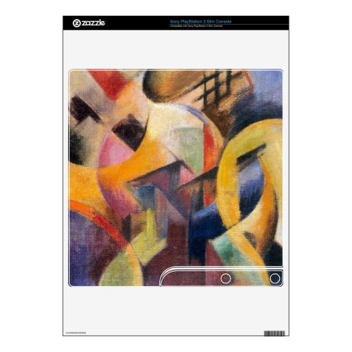 Franz Marc - Small composition I Skins For PS3 Slim