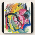 Franz Marc - Small composition II Coaster