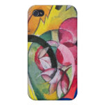 Franz Marc - Small composition II iPhone 4 Cases