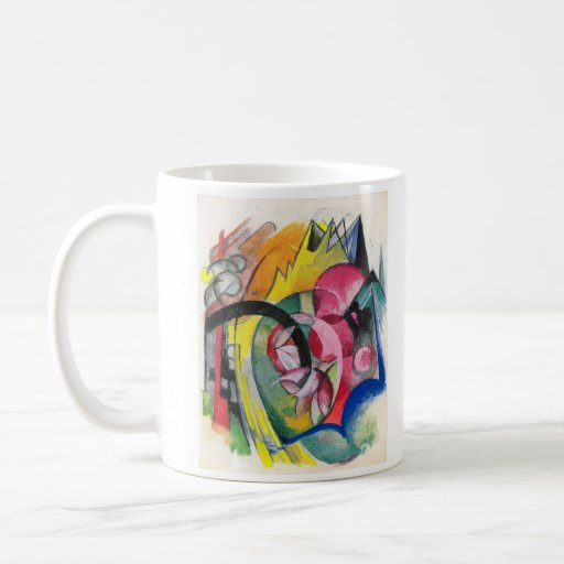 Franz Marc - Small composition II Classic White Coffee Mug