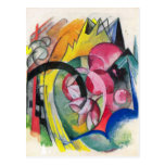 Franz Marc - Small composition II Postcard
